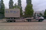 machinevervoer, trailervervoer, speciaaltransport, dieplader